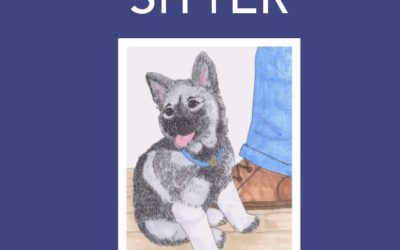 The Shoe Sitter – Norwegian Elkhound Children's Book